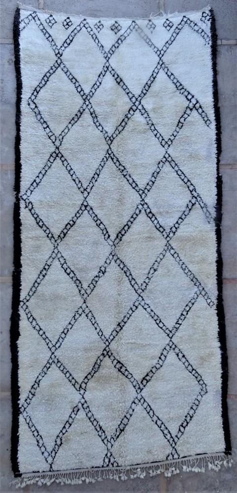 Tapis de salon berbère #BOA54001 de type tapis Beni Ouarain et Moyen Atlas Anciens