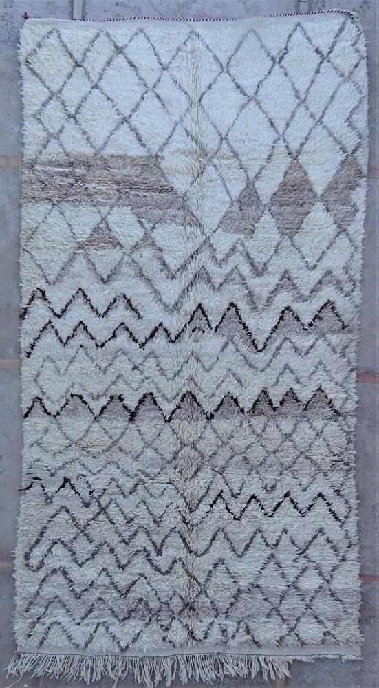 Tapis de salon berbère #BOA54002 de type tapis Beni Ouarain et Moyen Atlas Anciens