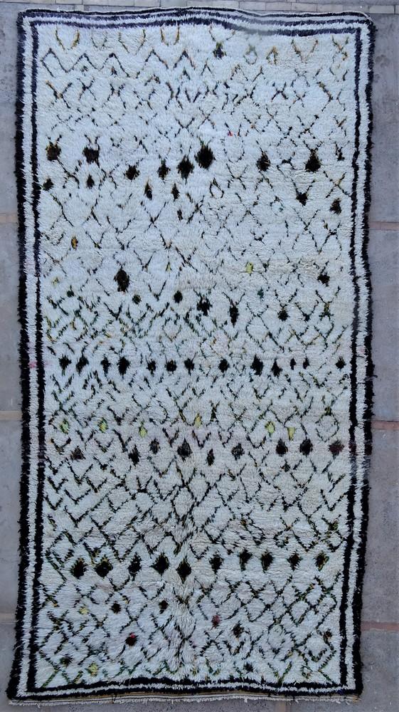 Tapis de salon berbère #BOA54008 de type tapis Beni Ouarain et Moyen Atlas Anciens