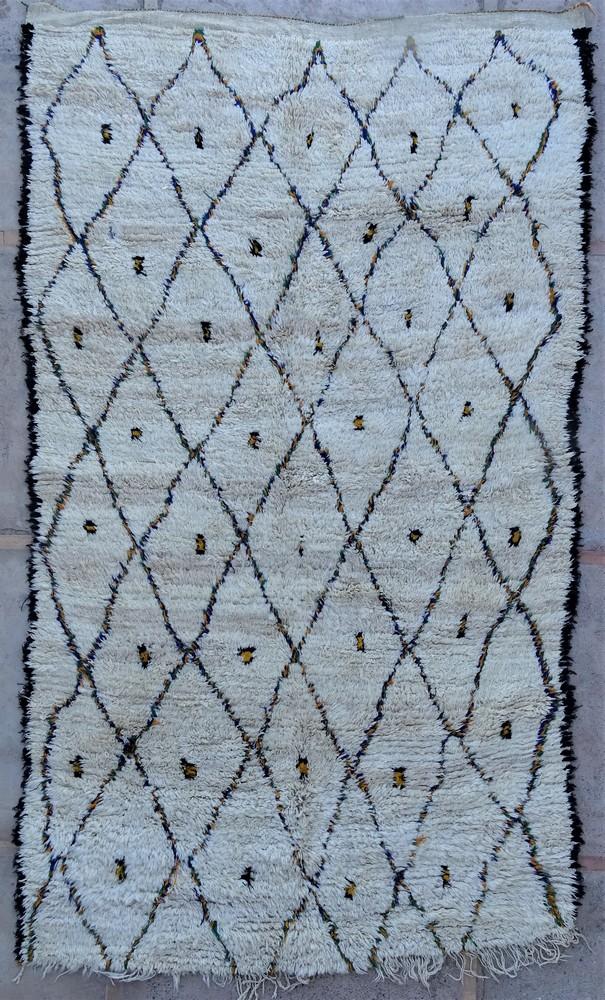 Tapis de salon berbère #BOA54010 de type tapis Beni Ouarain et Moyen Atlas Anciens