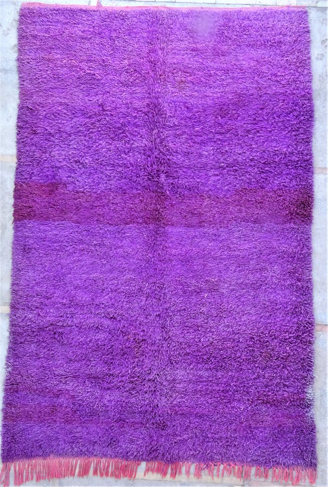 Tapis de salon berbère #BOA54024 de type tapis Beni Ouarain et Moyen Atlas Anciens