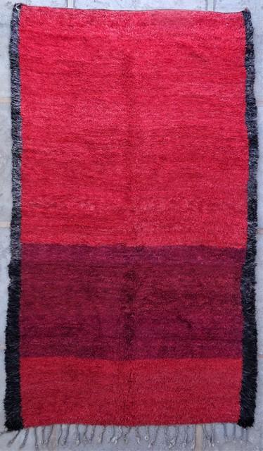 Tapis de salon berbère #BOA54049 de type tapis Beni Ouarain et Moyen Atlas Anciens