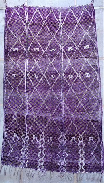 Tapis de salon berbère #BOA54050 de type tapis Beni Ouarain et Moyen Atlas Anciens