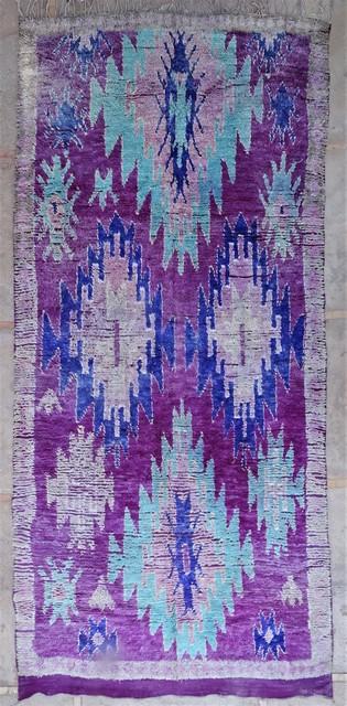 Tapis de salon berbère #BOA54044 de type tapis Beni Ouarain et Moyen Atlas Anciens