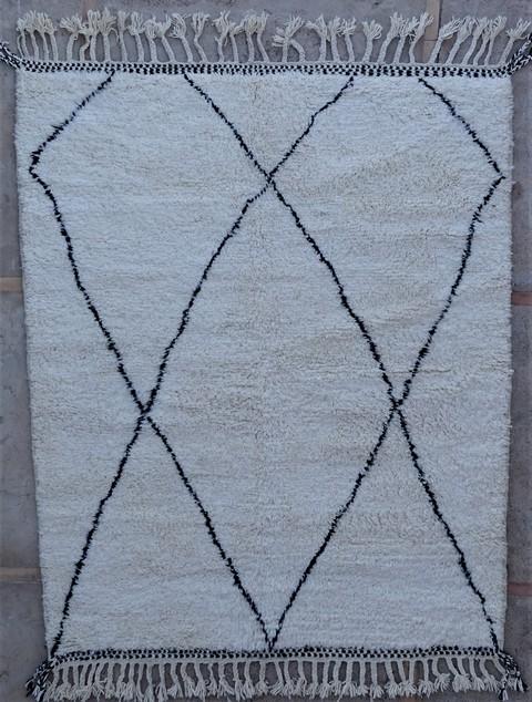 Tapis de salon berbère #BO54056 de type tapis Beni Ouarain