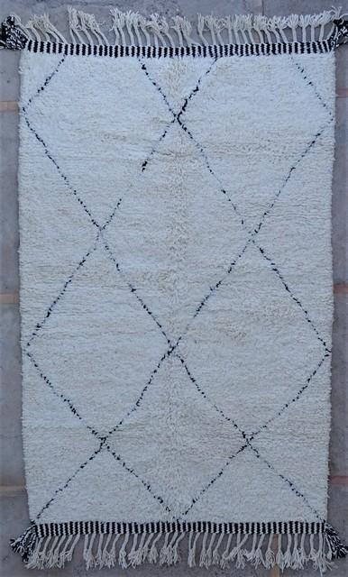 Tapis de salon berbère #BO54057 de type tapis Beni Ouarain