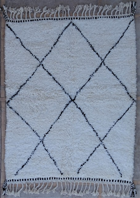 Tapis de salon berbère #BO54061 de type tapis Beni Ouarain