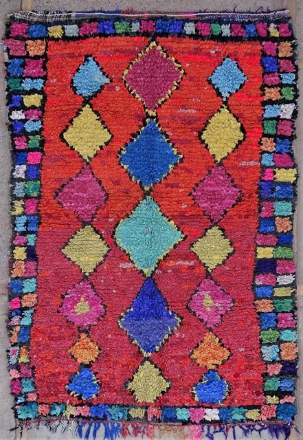 Berber rug #TC54078 from the Boucherouite Medium catalog