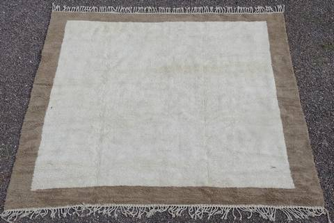 GRANDS TAPIS large beni ouarain with a  border of your color BO41202