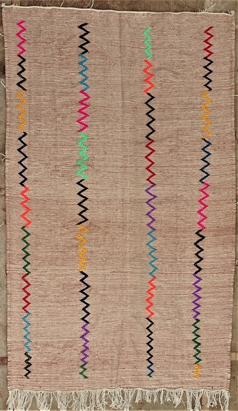 Kilim Zanafi ZA52153 wool, weft in cotton